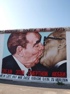 Graffiti en el Muro de Berlín